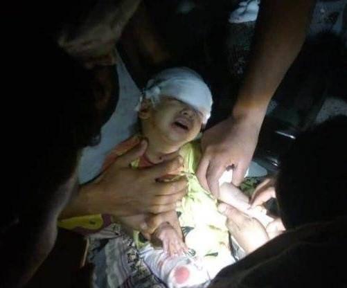 استشهاد وجرح ثلاث نساء وطفل في قصف حوثي على حيس جنوب الحديدة - فيديو وأسماء